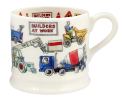 Builders At Work Small Mug - Emma Bridgewater | Ceramics | Builders at Work Small Mug
