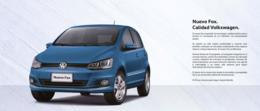 Nuevo fox. calidad volkswagen. print ads 547a58e9 7db6 40c3 89fe 90adc8e6b0cb medium
