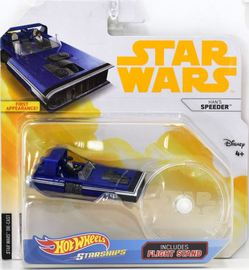 Han's Speeder | Model Spacecraft | Hot Wheels Star Wars Hans Speeder