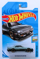'82 Nissan Skyline R30 | Model Cars | HW 2018 - Collector # 169/365 - Factory Fresh 10/10 - '82 Nissan Skyline R30 - Gray - International Long Card