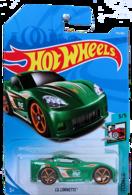 C6 Corvette (Tooned) | Model Cars | HW 2018 - Collector # 174/365 - Tooned 3/5 - C6 Corvette (Tooned) - Green - International Long Card