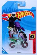 HW450F | Model Motorcycles | HW 2018 - Collector # NONE - HW Daredevils 3/5 - HW450F - Green - International Long Card