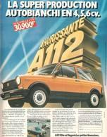 La Superproduction Autobianchi En 4, 5, 6 CV. | Print Ads