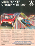Ahurissante Autobianchi A112 | Print Ads