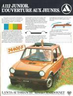 A112 Junior. L'Ouverture Aux Jeunes. | Print Ads