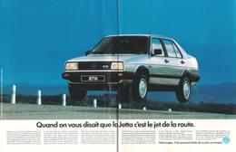 Quand On Vous Disait Que La Jetta C'est Le Jet De La Route. | Print Ads