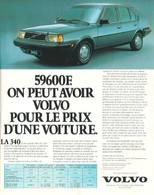 59600 F. On Peut Avoir Volvo Pour Le Prix D'Une Voiture. | Print Ads
