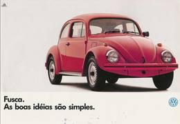 Fusca. As Boas Idéias São Simples. | Print Ads