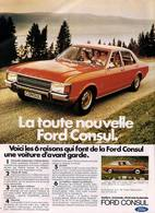 La Toute Nouvelle Ford Consul.  | Print Ads