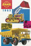 Gama Catalog 1963 | Brochures & Catalogs | Front