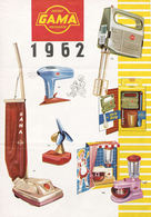 Gama Catalog 1962 | Brochures & Catalogs | Front