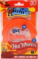 Hot Curves Action Set | Model Cars | Super Impulse Hot Wheels Replica Hot Curves Action Set with Blue Boneshaker
