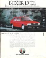 Boxer 1.5 T. I. | Print Ads