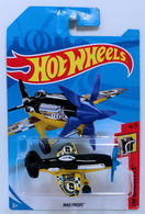 Mad Propz | Model Aircraft | HW 2018 - Collector # NONE - HW Daredevils 4/5 - Mad Propz - Black & Yellow - International Long Card
