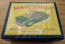 72 Car Matchbox Carry Case  | Carrying & Storage Cases