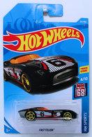 Fast FeLion | Model Cars | HW 2018 - Collector # 201/365 - HW Sports 4/10 - Fast FeLion - Black - International Long Card