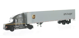 Tonkin/U. P. S. Freight/Volvo & 53 Foot Dry Van | Model Vehicle Sets