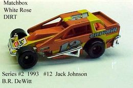 DIRT Modifieds Jack Johnson #12 B.R. DeWitt | Model Racing Cars