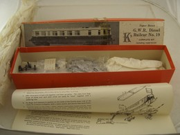 G.W.R. Diesel Railcar No. 19 | Model Train Kits (Locomotives)