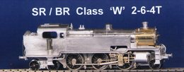 "SR/BR Class ""W"" 2-6-4T 
