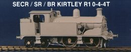 SR/BR Kirtley R1 0-4-4T | Model Train Kits (Locomotives)