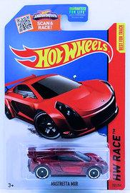 Mastretta MXR | Model Cars | HW 2015 - Collector # 151/250 - HW Race / World Race / Super Treasure Hunts - Mastretta MXR - Spectraflame Red - USA Card