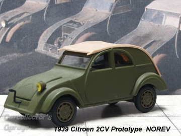 Citroën 2CV Prototype 1939 | Model Cars