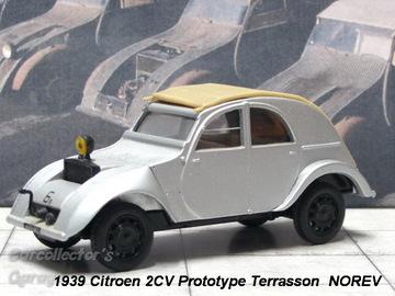 Citroen 2CV Prototype Terrasson 1939 | Model Cars