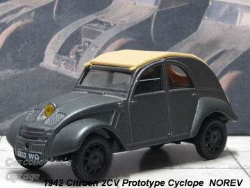 Citroen 2CV Prototype Cyclope 1942 | Model Cars
