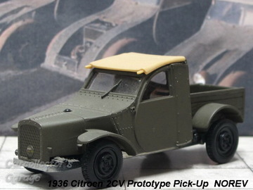 Citroen 2CV Prototype Pick-Up 1936 | Model Cars