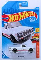 Mazda Repu | Model Trucks | HW 2018 - Collector # 204/365 - HW Hot Trucks 1/10 - Mazda Repu - White - USA 50th Card