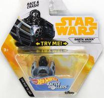 Darth Vader (TIE Advanced) | Model Spacecraft | Hot Wheels Star Wars Battle Rollers Darth Vader