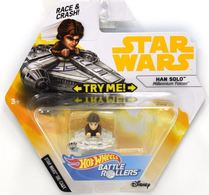 Han Solo (Millennium Falcon) | Model Spacecraft | Hot Wheels Star Wars Battle Rollers Han Solo Millennium Falcon