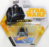 TIE FIghter Pilot TIE Fighter | Model Spacecraft | Hot Wheels Star Wars TIE Fighter Pilot Battle Roller