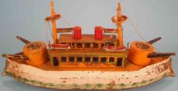 Hill Climber Battleship | Model Ships and Other Watercraft