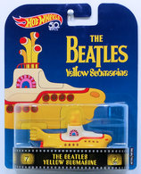 The Beatles Yellow Submarine | Model Ships and Other Watercraft | HW 2018 - Replica Entertainment # FLD07 - The Beatles Yellow Submarine - Yellow - Metal/Metal