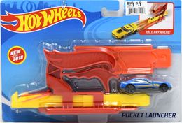 Pocket Launcher  | Model Vehicle Sets | Hot Wheels Pocket Launcher With Track, Launcher, and Vehicle