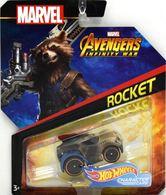 Rocket | Model Cars | Hot Wheels Marvel Comics Avengers RocketInfinity War