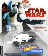Scout Trooper | Model Cars | Hot Wheels Star Wars Character Cars  Scout Trooper