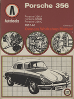 Porsche 356 Owner's Workshop Manual (Autobooks) | Manuals & Instructions