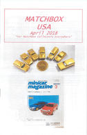 Matchbox USA Magazine April 2018 | Magazines & Periodicals