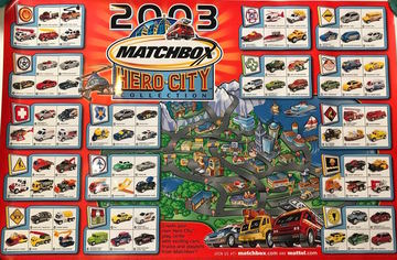 2003 Matchbox Hero City Collection | Posters & Prints