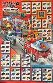 2004 Matchbox Hero City Collection | Posters & Prints