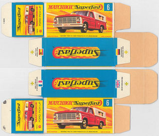 Matchbox Miniatures Picture Box - G Type - Ford Pick-Up | Collectible Packaging