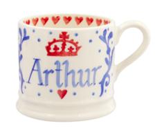 Royal Baby Blue Personalised Small Mug - Emma Bridgewater   Ceramics   Royal Baby Small Mug