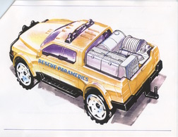 Rescue 4x4 Truck Concept Sketch | Drawings & Paintings