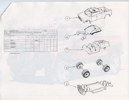 2003 Rescue 4x4 Truck Concept Exploded View | Drawings & Paintings