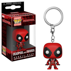 Deadpool with Swords | Keychains