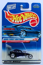 Fiat 500C     | Model Cars | HW 1999 - Collector # 919 - First Editions 11/26 - Fiat 500C - Purple - USA Blue Car Card
