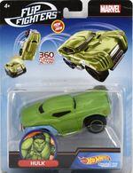 Hulk | Model Cars | Hot Wheels Marvel Comics Flip Fighters Hulk U.S.A. Card